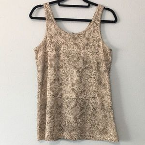 Tops - BKE Lace Tank Top